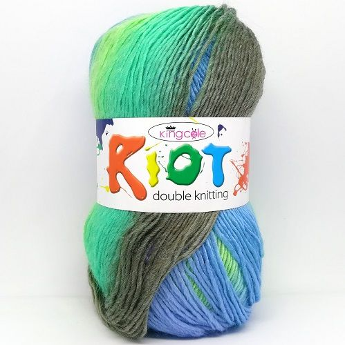 King Cole RIOT DK 3349 Sea Breeze