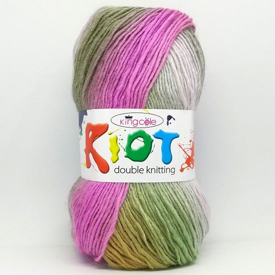 King Cole RIOT DK 3352 Waterlily