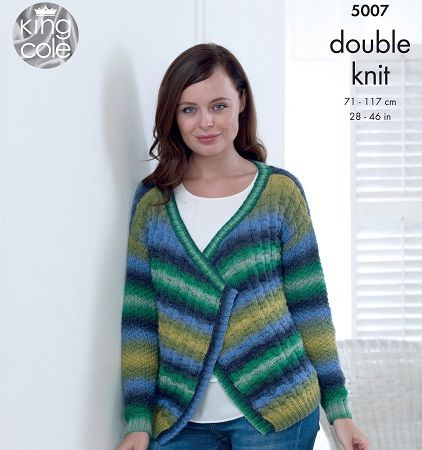King Cole Riot DK Knitting Patterns