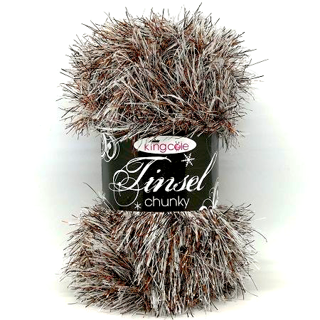 King Cole TINSEL 3221 Coconut