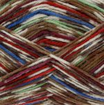 King Cole ZIG ZAG Sock Wool 4 ply 3010 Chicago DISCONTINUED