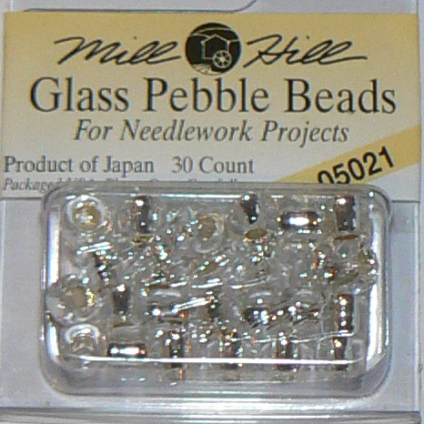 Knit & Crochet Pebble Beads Size 3 (5.5mm)
