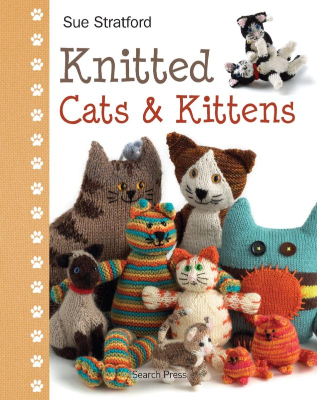 Knitted Cats and Kittens Knitting Pattern Book Sue Stratford