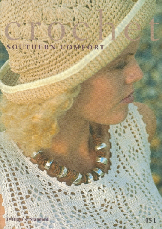 Ladies Crochet Southern Comfort Book 451