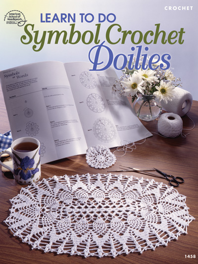 Learn To Do Symbol Crochet Doilies Pattern Book Asn