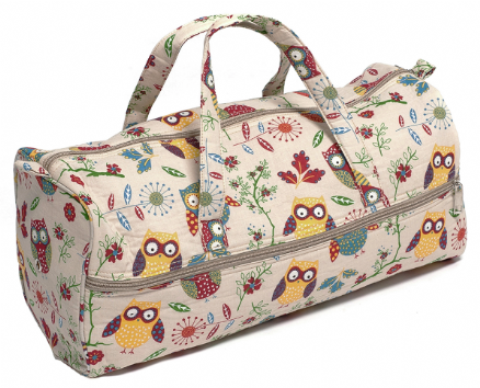 OWL Knitting Bag (Oblong)