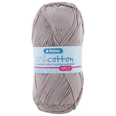 Patons 100% Cotton 4ply 1748 Taupe