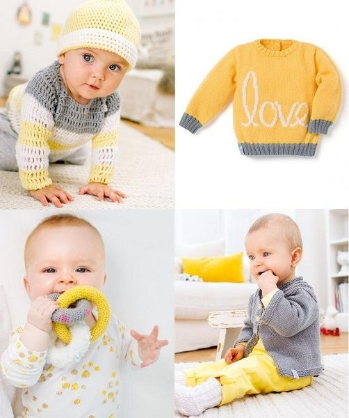 Needlecrafts Yarn Patons Baby Knitting Booklet Baby Moments