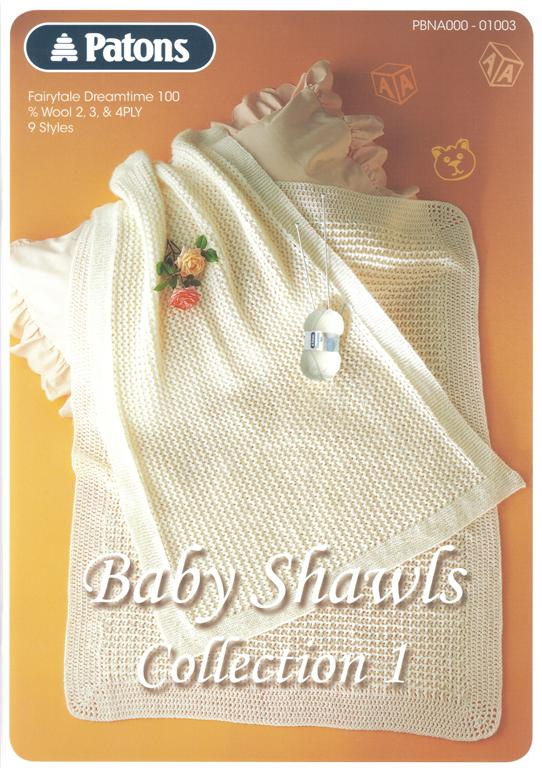 Patons Baby Shawls Collection 1 Knit Amp Crochet Book 1003