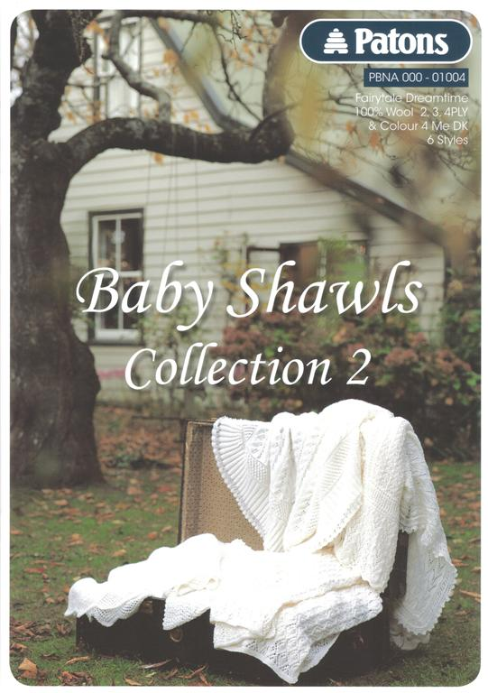 Patons Baby Shawls Collection 2 Knitting Book 1004