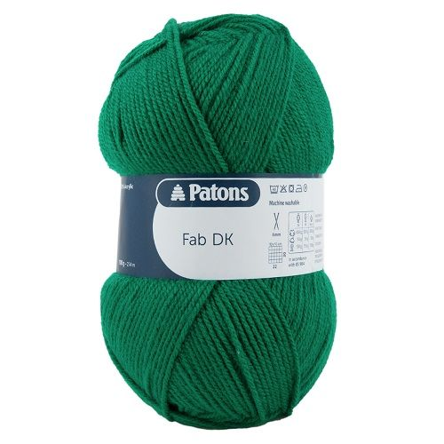 Patons FAB DK 2319 FOREST Green