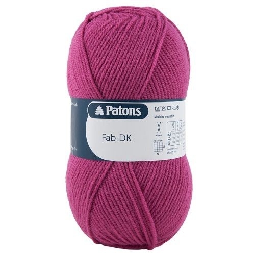 Patons FAB DK 2340 STRAWBERRY