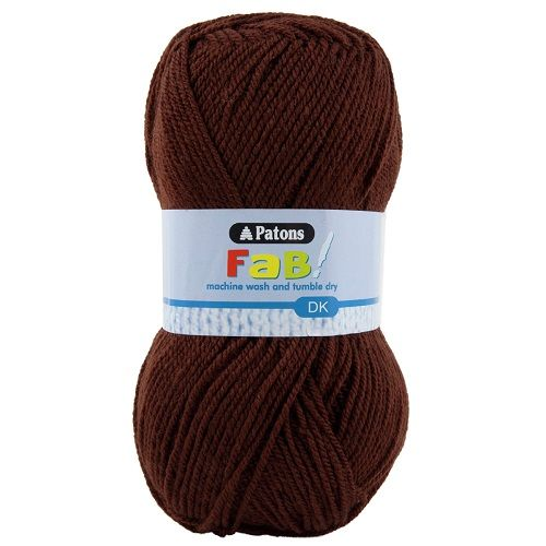 Patons FAB DK 2357 CHOCOLATE Brown