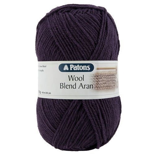 Patons Wool Blend ARAN 149 PURPLE