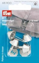 Prym Base Nails for Handbag Silver col.
