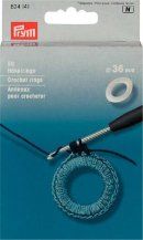 Prym Crochet Rings 50 x 36mm