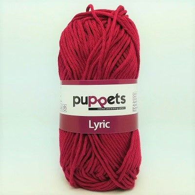 Puppets LYRIC 8/8 Cotton 0192 Burgundy