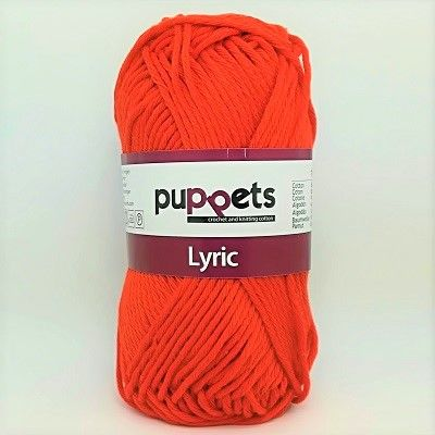 Puppets LYRIC 8/8 Cotton 0390 Tomato Red