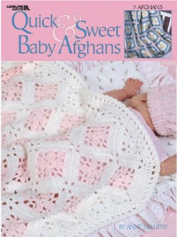 Quick Amp Sweet Baby Afghans Crochet Pattern Book
