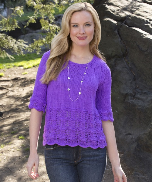 Red Heart Summer Top Knitting Pattern Free