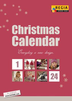 Regia Christmas Calendar 24 days Knitting