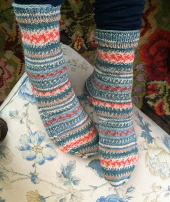 Regia Design Line Arne And Carlos Socks Knitting Pattern Free