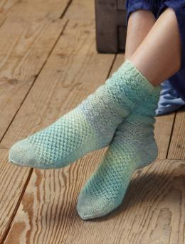 Regia Design Line Socks Knitting Pattern FREE