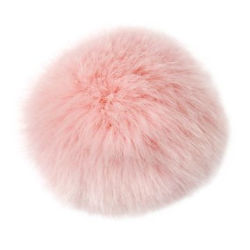 Rico Design Fake Fur Pompon 019 Pale PINK