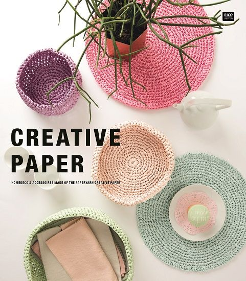 Rico Paper Crochet Patterns