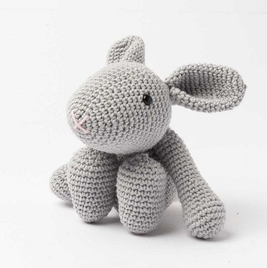 Kit Amigurumi Frankie the Bunny | 550x549