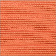 Rico Ricorumi DK Cotton 024 Smokey Orange REDUCED