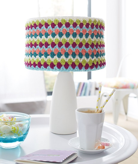 Schachenmayr sun city lamp shade and vase cover crochet pattern schachenmayr sun city lamp shade and vase cover crochet pattern free with purchase mozeypictures Gallery
