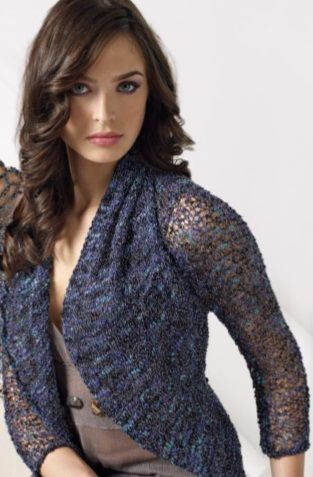 Schoeller and Stahl Variete Shrug Knitting Pattern FREE Download
