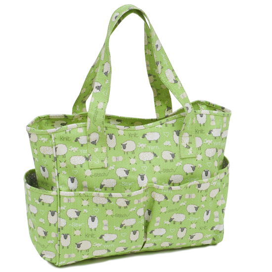 Sheep PVC Knitting Crochet CRAFT Bag MRB438