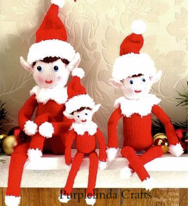 Sirdar Christmas Elves Toy Knitting KIT