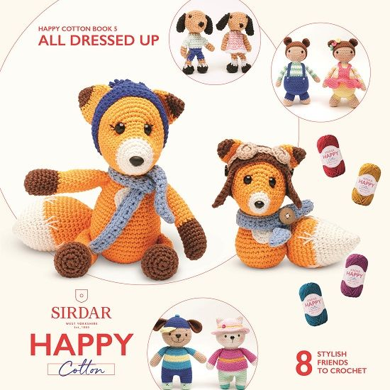 Sirdar Happy Cotton Crochet Booklets