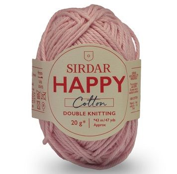 Sirdar Happy Cotton DK 760 Flamingo