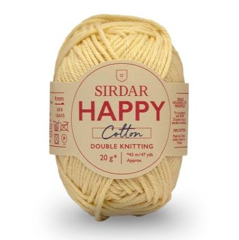 Sirdar Happy Cotton DK 770 Lemonade