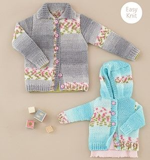 Sirdar Hayfield BLOSSOM Chunky Baby Knitting Patterns