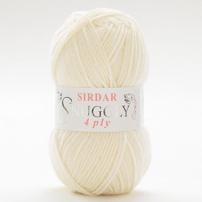Sirdar Snuggly 4 ply 303 CREAM