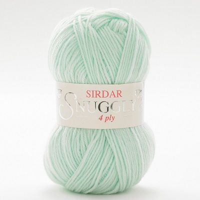 Sirdar Snuggly 4 ply 304 Pearly Green