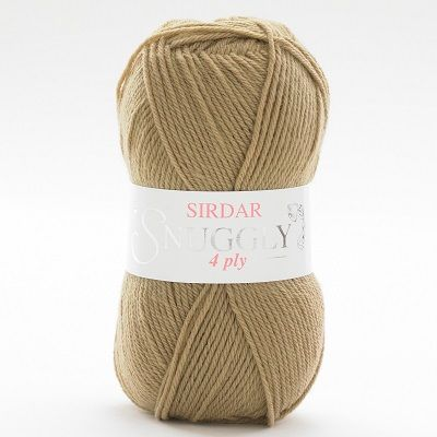 Sirdar Snuggly 4 ply 428 Soft Brown REDUCED