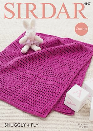 Crochet Blanket 8 Ply
