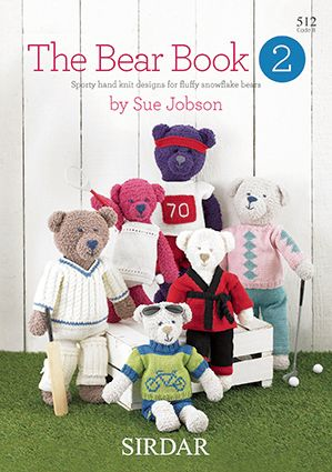 Sirdar The BEAR BOOK 2 knitting Pattern 512
