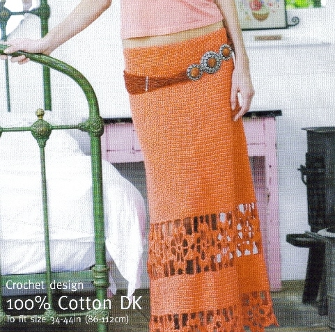 Skirt, Dress & Bikini Crochet Patterns
