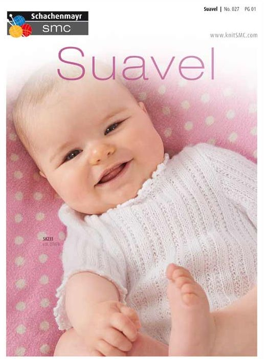 SMC Suavel Knit Crochet Baby Pattern No.027 FREE
