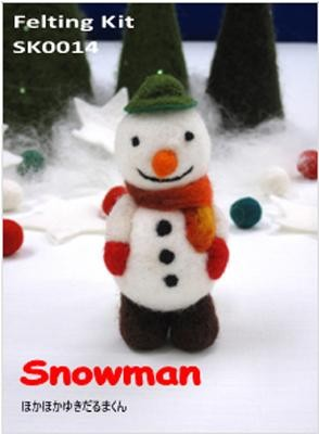 Snowman - Tulip Felting Kit