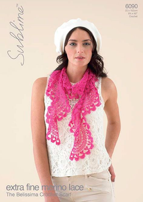 Sublime EFM LACE Crochet Pattern 6090 BELISSIMA Free Download