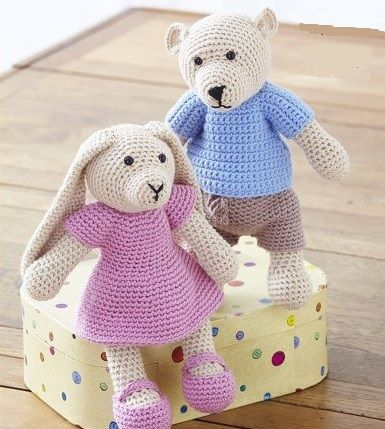 Toys, Dolls & Teddy Bear Crochet Patterns