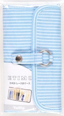 Tulip Etimo Blue/White Stripe Crochet Hook Case